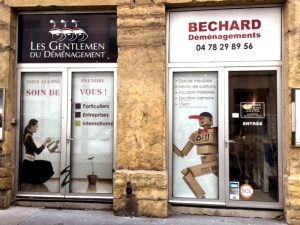 Bechard société déménagement à Lyon 04